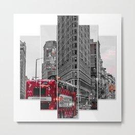 14 street meet Metal Print