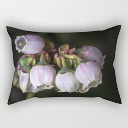 Blueberry Bells Rectangular Pillow