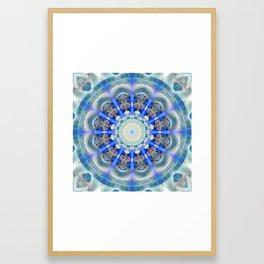 Mandala element air Framed Art Print