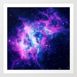 Dream Of Nebula Galaxy Art Print