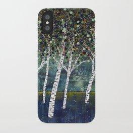 Evening Aspens iPhone Case