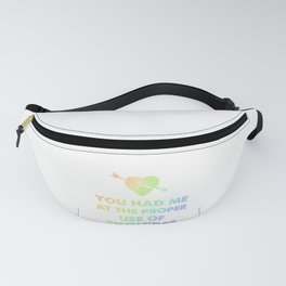 Grammar Geek Educator Had Me at Proper Use of You're Fanny Pack