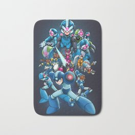 Mega Men Bath Mat