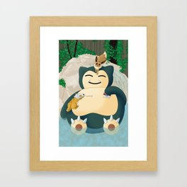 Pokepals Framed Art Print