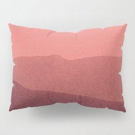 gradient landscape red Pillow Sham