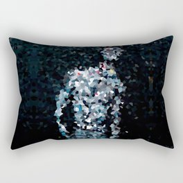 Geometric Valkyrie Walküre Zen Color Abstract Shapes  Rectangular Pillow