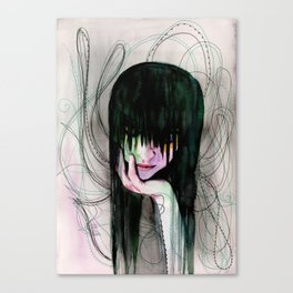 Desperation Canvas Print