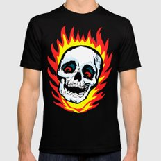 Skull 01 MEDIUM Mens Fitted Tee Black
