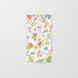 Party frogs Hand & Bath Towel