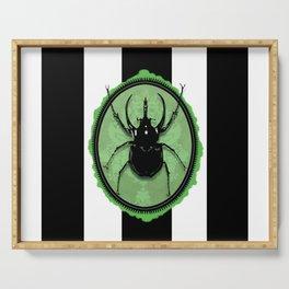 Juicy Beetle GREEN Serving Tray