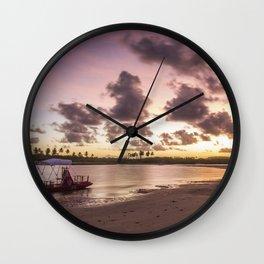 Raft Wall Clock