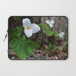 Trilliums  Laptop Sleeve