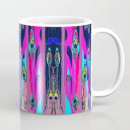 Peacock  Storm Front Abstract Coffee Mug