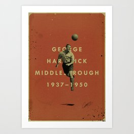Middlesbrough - Hardwick Art Print
