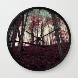 upstate autumn Wall Clock