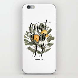 Count It All Joy iPhone Skin