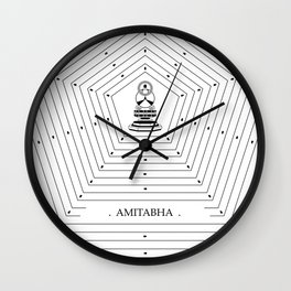 AMITABHA Wall Clock