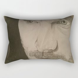 Paul Spector. The Fall Rectangular Pillow