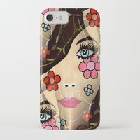 blossom iPhone & iPod Cases featuring Blossom by Sartoris ART