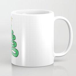 Christmas Snake Coffee Mug