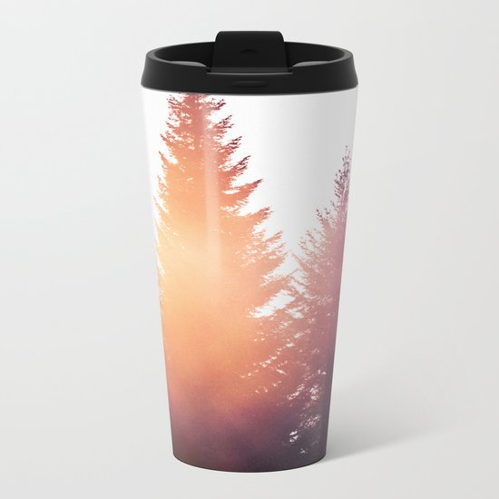 Morning Glory Metal Travel Mug