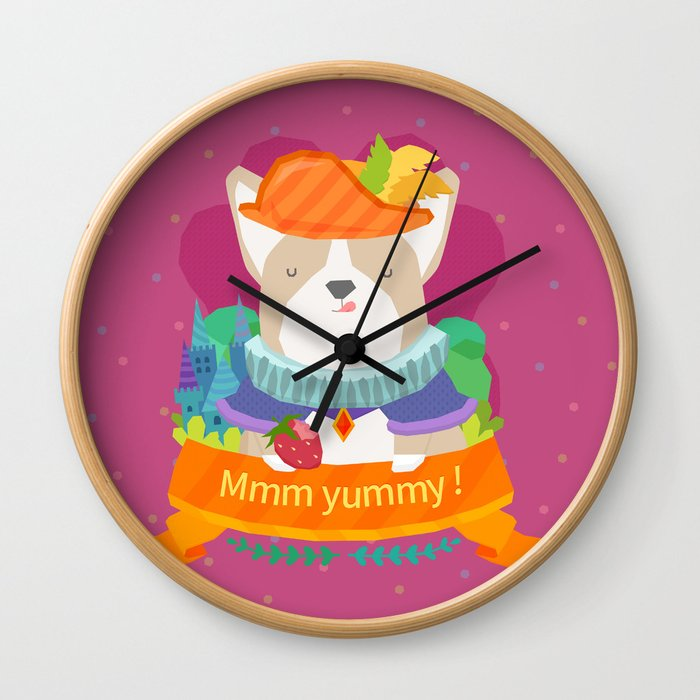 mmm yummy! Wall Clock