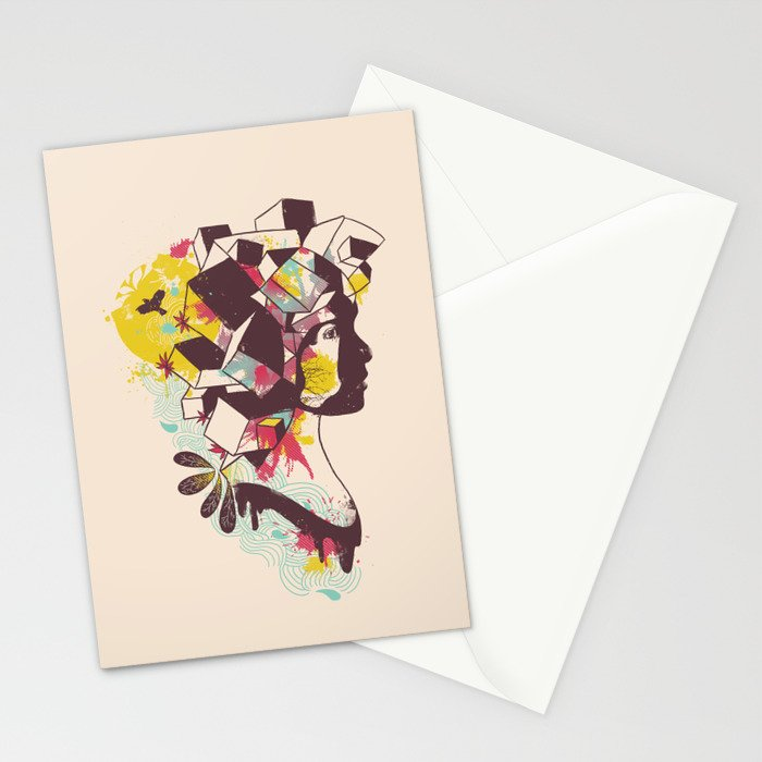 Overcrowded Memory Stationery Cards