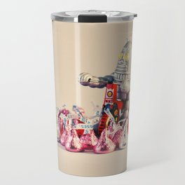 """""""You are my knight in shining armor"""", she said. Travel Mug"""