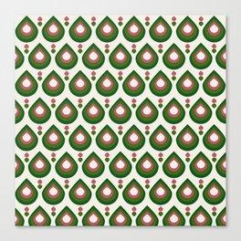 Drops Retro Confete Canvas Print