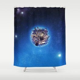 Mostly Harmless Shower Curtain