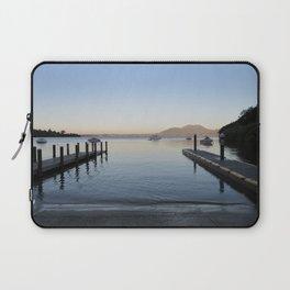 Sunset at Lake Taupo Laptop Sleeve