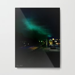 Northern Lights in Tromso Metal Print