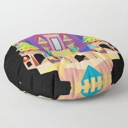 castle  Floor Pillow