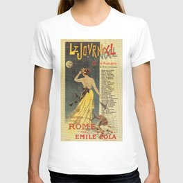 Rome by Emile Zola T-shirt