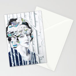 I'd Have Been Happier As A Bird Stationery Cards