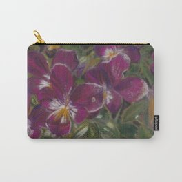 Starburst of purples and mauves Carry-All Pouch