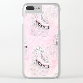 Figure Skating #8 Clear iPhone Case