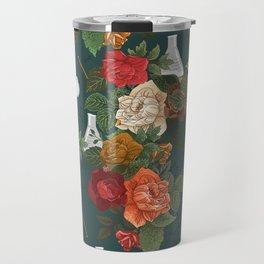 Chemistry Floral Travel Mug