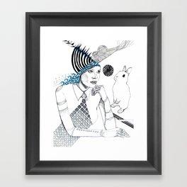 Mysterious Spin Framed Art Print
