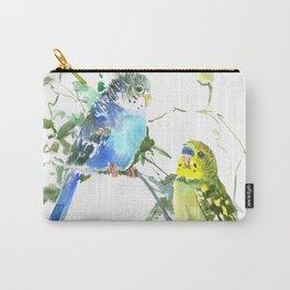 Parakeets, budgies pet bird home decor Carry-All Pouch