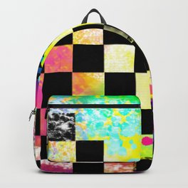 The Chess Board Of Death Backpack
