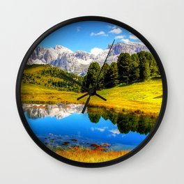 mountain_landscape Wall Clock