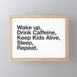 Keep them Alive. Framed Mini Art Print