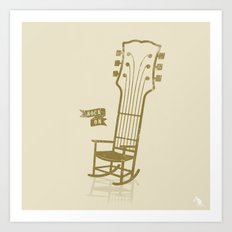 Rock On!  Art Print
