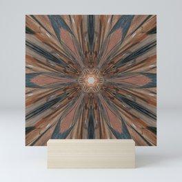 Scorched Starburst 1 Mini Art Print
