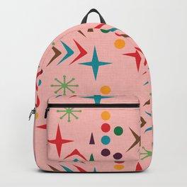 Atomic pattern mid century modern #homedecor Backpack