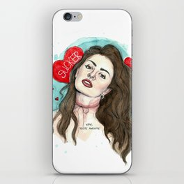 SUCKER iPhone Skin