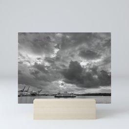 Elliott Bay Ferry Mini Art Print