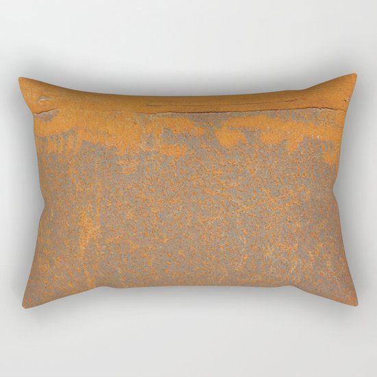 Iron and Rust Rectangular Pillow