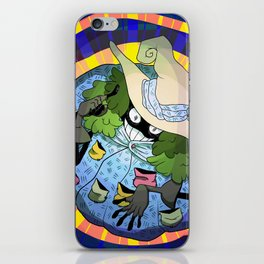 Positive Witch  iPhone Skin